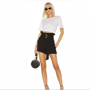 IRO Lux High waist Shorts in Black Size 36